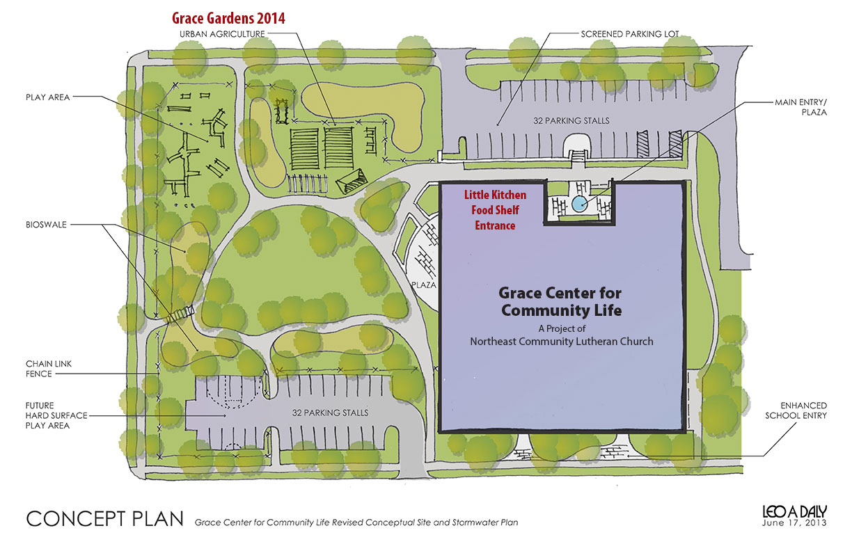 Grace Gardens 2014 New Landscape Plan